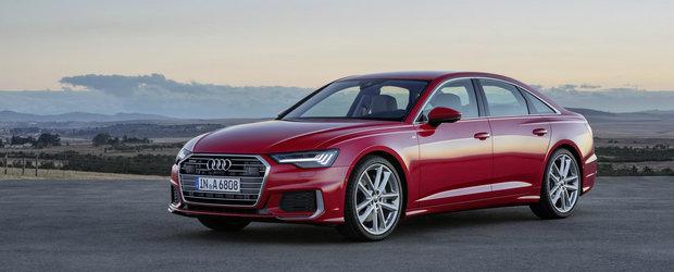 ACESTA ESTE NOUL A6! Audi a publicat acum toate fotografiile si informatiile oficiale