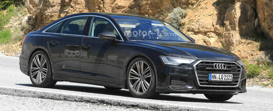 Acesta este noul Audi S6. Modelul german a iesit pe strazi complet necamuflat