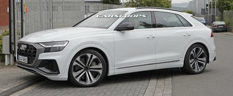 Acesta este noul Audi SQ8. Modelul german a iesit pe strazi complet necamuflat