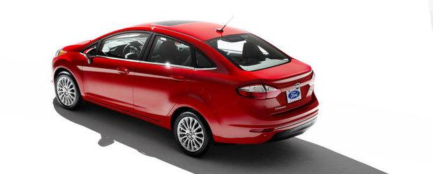 Acesta este noul Ford Fiesta Sedan