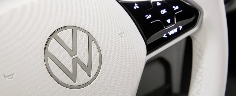 Acesta este noul logo Volkswagen. O echipa interna a lucrat mai bine de trei ani la crearea lui