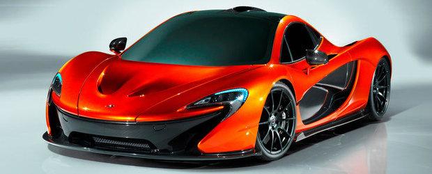Acesta este noul McLaren P1, succesorul legendarului F1!