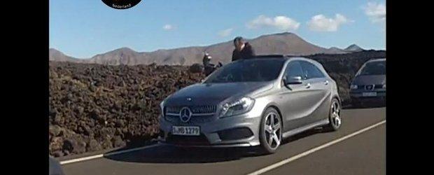 Acesta este noul Mercedes-Benz A-Class 2012 - primul film!