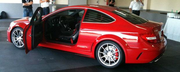 Acesta este noul Mercedes C63 AMG Coupe Black Series!