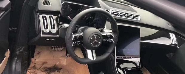 ACESTA este noul Mercedes S-Class! REGELE limuzinelor de lux a fost surprins complet necamuflat