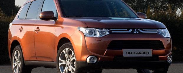 Acesta este noul Mitsubishi Outlander!