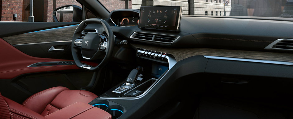 Acesta este noul PEUGEOT 3008 facelift. Temerile nemtilor de la Volkswagen tocmai s-au adeverit