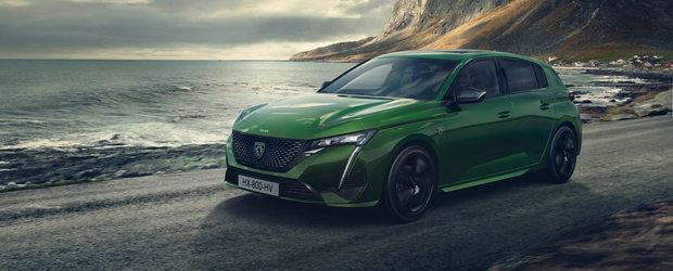 Acesta este noul Peugeot 308! Francezii au publicat acum primele imagini si detalii oficiale!
