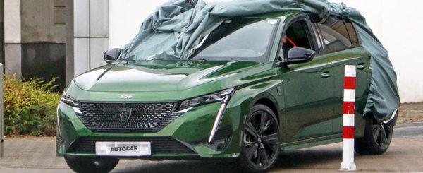 Acesta este noul Peugeot 308! Hatchback-ul francezilor, surprins complet necamuflat la nivelul partii frontale!