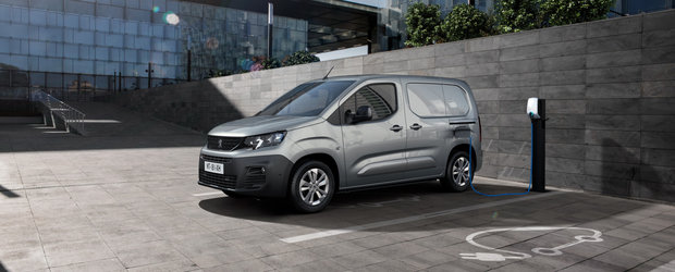 Acesta este noul Peugeot e-Partner: 136 CP si 275 kilometri autonomie maxima