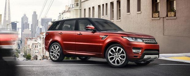 Acesta este noul Range Rover Sport!