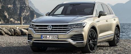 ACESTA ESTE NOUL TOUAREG V8 TDI! Volkswagen a publicat acum toate informatiile si fotografiile oficiale