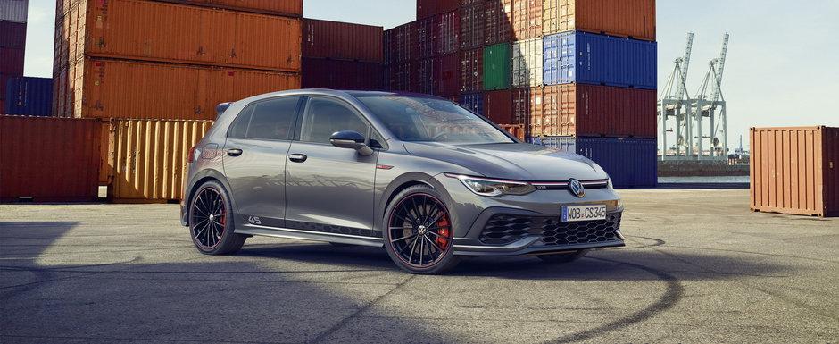 Acesta este noul Volkswagen Golf GTI Clubsport 45! Primele imagini si detalii oficiale au fost publicate chiar acum!