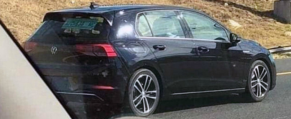 Acesta este noul VW GOLF. Modelul german a iesit pe strazi complet necamuflat