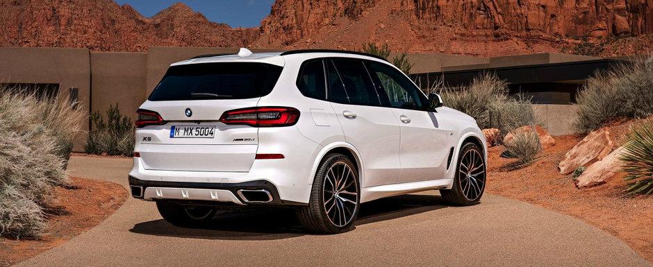 ACESTA ESTE NOUL X5! BMW a publicat acum toate informatiile si fotografiile oficiale