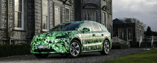 Acesta este primul SUV electric din istoria SKODA: 5 versiuni de motorizare si tractiune spate