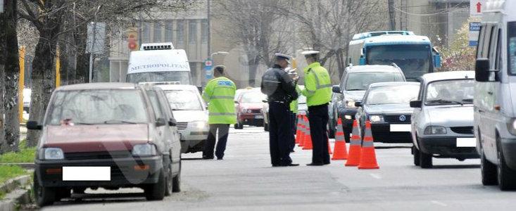 Actiunea politie in Bucuresti se intensifica: ai fost oprit de Politie sau de RAR?