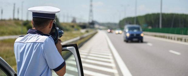 Actiunea Politiei s-a incheiat: 11.000 de amenzi si 1.027 de permise retinute din cauza vitezei excesive