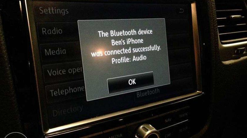 Activare bluetooth Telefon Volkswagen Touareg 7P RNS 850