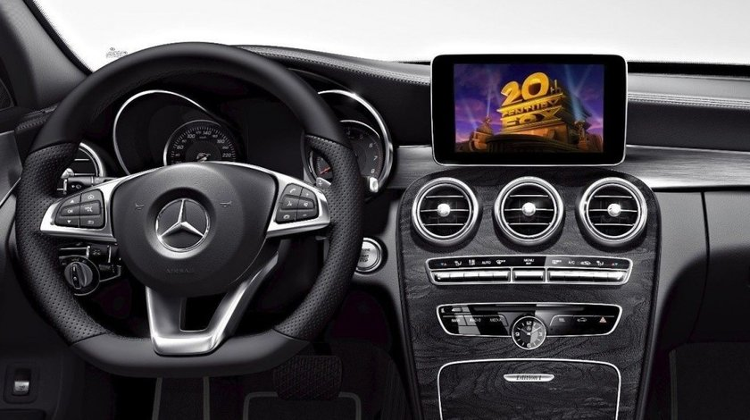 Activare Filme Video in Motion Miscare Mercedes C GLC V S Classe