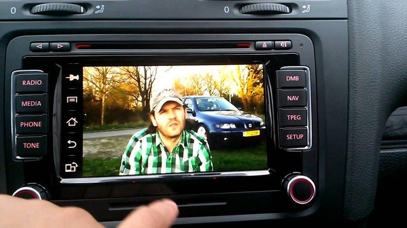 Activare VIM video in mers pe navigatie Volkswagen RNS 510 / 810