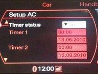 Activare Webasto Audi A8 si Audi Q7