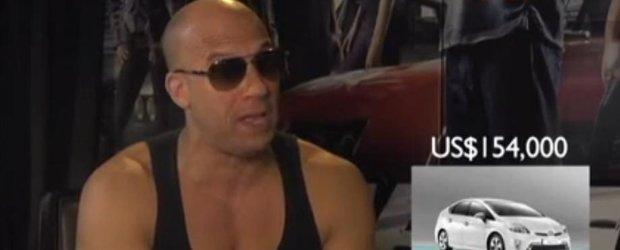Actorii din Fast & Furious 6 ghicesc preturile masinilor din Singapore