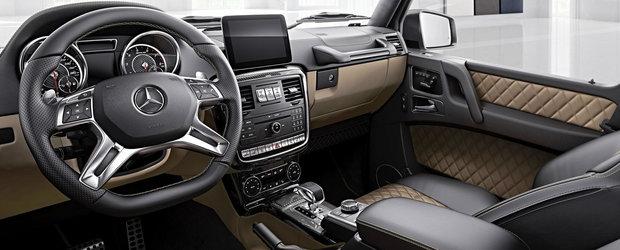 Actuala generatie G-Class bate usor in retragere. Mercedes va prezenta seria Exclusive Edition la Frankfurt