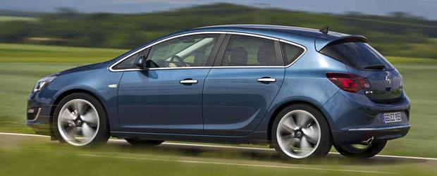 Actualul Opel Astra primeste un 1.6 turbo de 170 cai putere