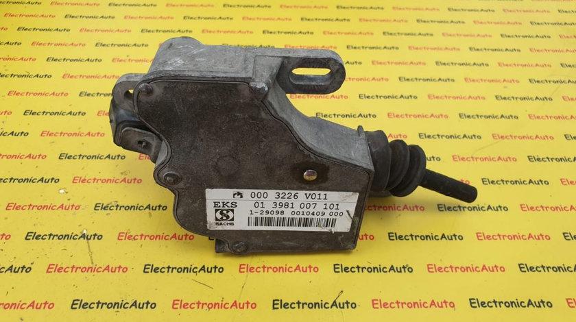 Actuator Cutie Automata Smart ForTwo City-Coupe W450 W452, 0003226V011, 013981007101