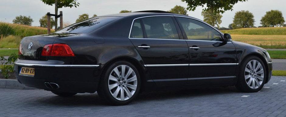 Acum 13 ani a costat o avere. Astazi, acest VW Phaeton cu motor W12 se vinde pentru o nimica toata