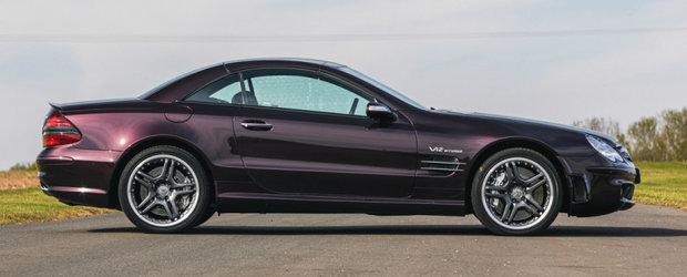 Acum 16 ani a costat peste 170.000 de euro. Cu cat se vinde in ziua de azi un SL impecabil, cu motor V12