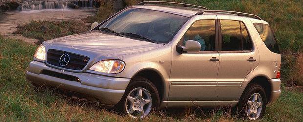 Acum 20 de ani Mercedes-ul ML devenea primul SUV premium din istorie