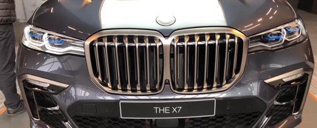 Acum ai ocazia sa studiezi in detaliu noul X7. VIDEO cu cel mai mare si luxos SUV din istoria BMW