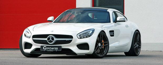 Acum este cel mai puternic AMG GT de la Mercedes. A primit 610 cai si 755 Nm cuplu de la G-Power