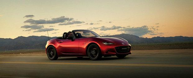 Acum este momentul sa-ti iei o Mazda MX-5. Modelul 2019 a fost lansat cu 184 de cai si limitare la 7.500 rpm