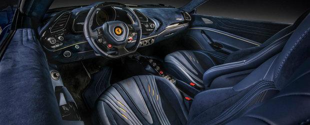 """""""Acum este perfect!"""". Asta au spus cei de la Carlex dupa ce au modificat interiorul acestui Ferrari"""