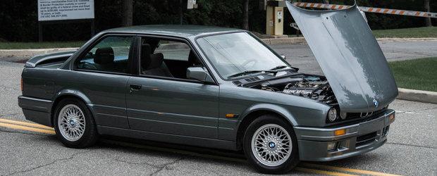 Acum este sansa ta sa iei acasa un BMW 320is din 1988. Uite pentru cati bani