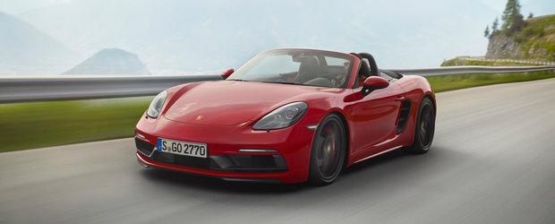 Acum iti vei dori si mai tare un Porsche 718. Noua versiune GTS aduce 365 de cai si cateva noutati vizuale