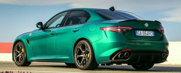 Acum poti comanda ALFA cu motor de Ferrari si intr-o nuanta deosebita de verde. Ce alte imbunatatiri a primit