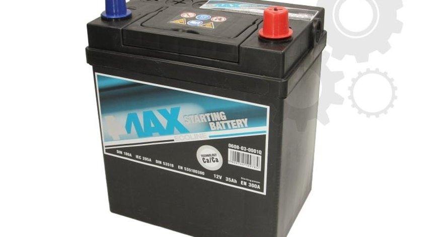 Acumulator auto 4-max 35ah 300A plus pe dreapta