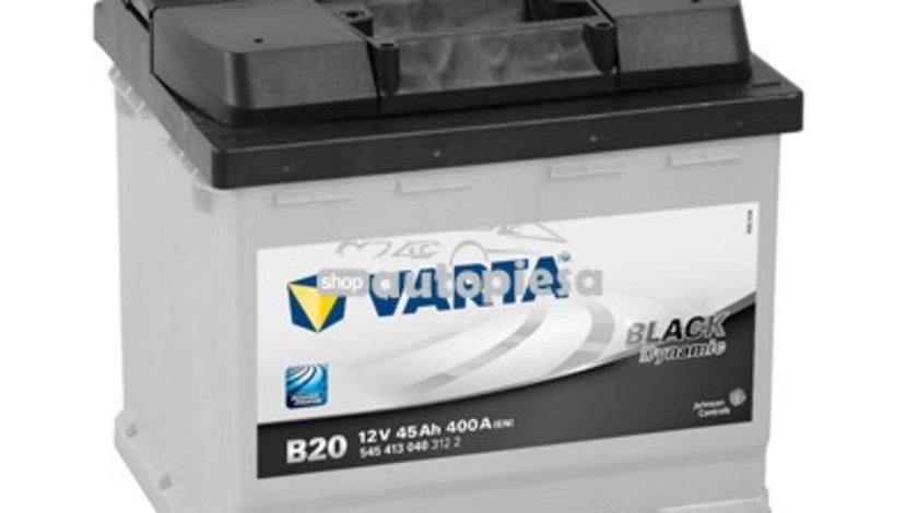 Acumulator baterie auto VARTA Black Dynamic 45 Ah 400A cu borne inverse 5454130403122 piesa NOUA
