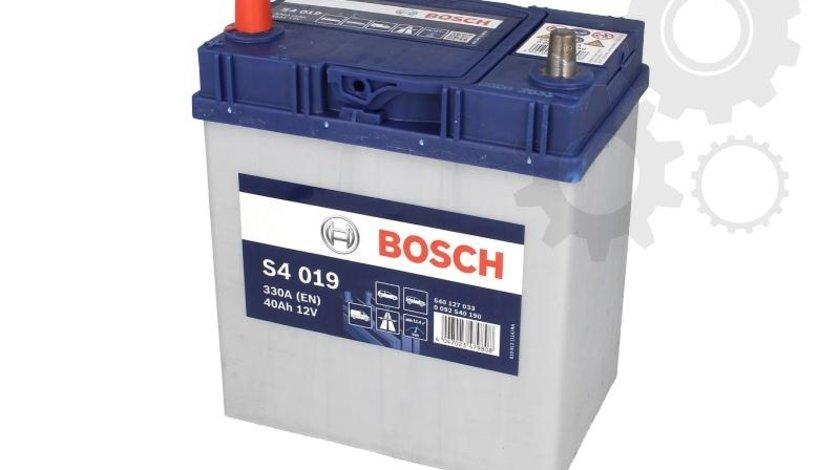 Acumulator Bosch cu plus pe stanga si si borne subtiri 40ah 330a
