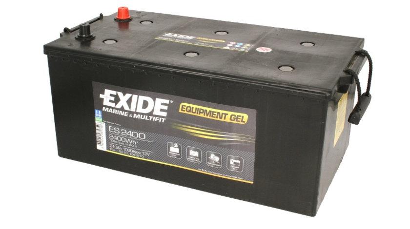 Acumulator EXIDE 210Ah/1050A, 518x279x240, ECHIPAMENTE GEL cod intern: BC1193A