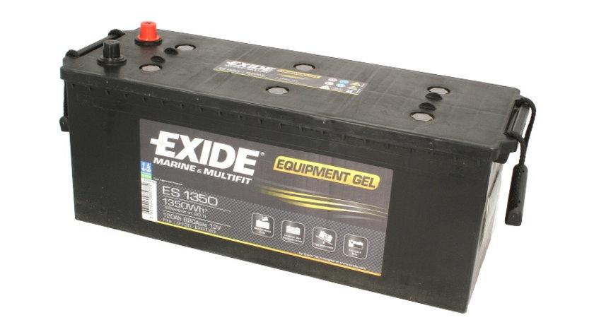 Acumulator EXIDE MARINE & MULTIFIT EQUIPMENT GEL / 12V 120Ah 620A/ 1350 Wh (eficient 20h) / acumulator pentru aplicatii duale cod intern: BC1188A