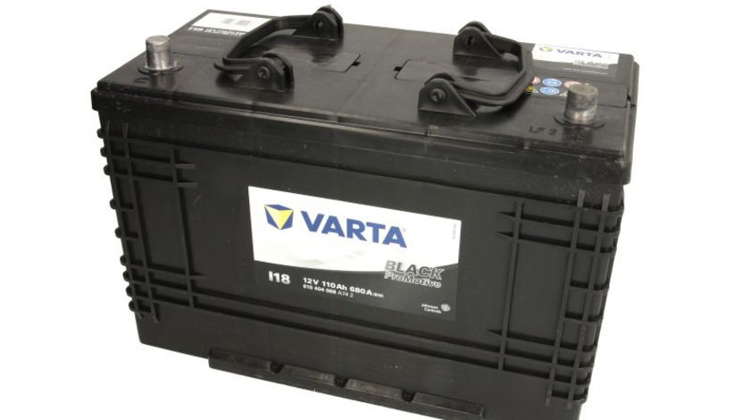 Acumulator VARTA 12V 110Ah/680A PROMOTIVE BLACK (R+ Borna Standard) 347 B01