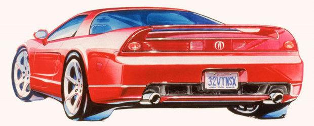 Acura NSX Concept debuteaza luna viitoare
