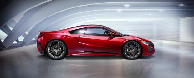 Acura NSX in varianta de productie isi face aparitia la Detroit