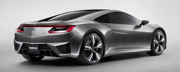 Acura NSX intra in productie din 2015
