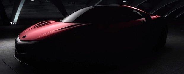 Acura NSX vine la Salonul Auto de la Detroit in forma de serie